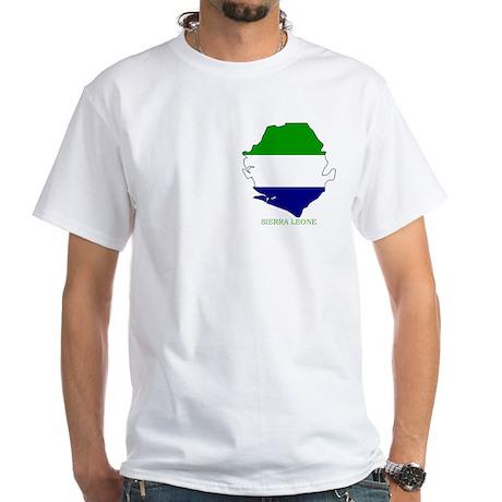White Sierra Leone T-Shirt
