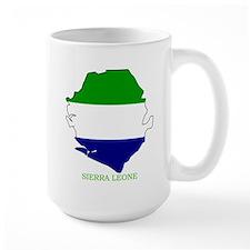 Large Sierra Leone  Mug