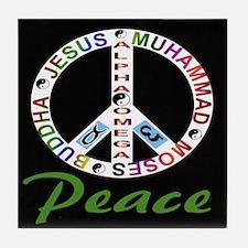 ALPHA OMEGA - PEACE Tile Coaster
