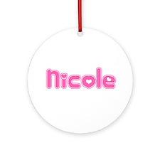 """""""Nicole"""" Ornament (Round)"""