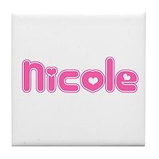 """""""Nicole"""" Tile Coaster"""