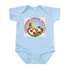 Canadian Chicks kick ass Infant Creeper