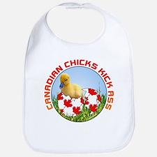 Canadian Chicks kick ass Bib