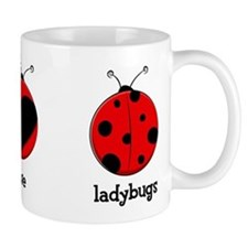 Peace, love, ladybugs Mug