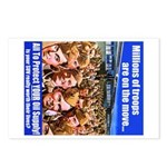 Moving Troops Postcards (Package of 8)