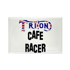 TRITON Cafe Racer Rectangle Magnet