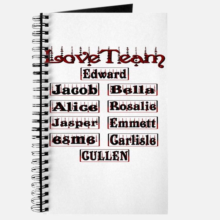 love team cullen Journal