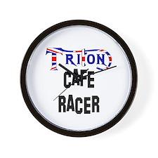 TRITON Cafe Racer Wall Clock