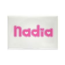 """Nadia"" Rectangle Magnet"