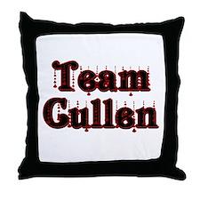 team cullen Throw Pillow