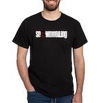 Snowmobile Skull Dark T-Shirt