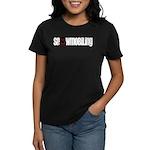 Snowmobile Skull Women's Dark T-Shirt
