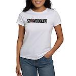 Snowmobile Skull Women's T-Shirt