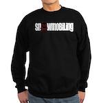 Snowmobile Skull Sweatshirt (dark)