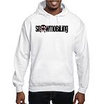Snowmobile Skull Hooded Sweatshirt