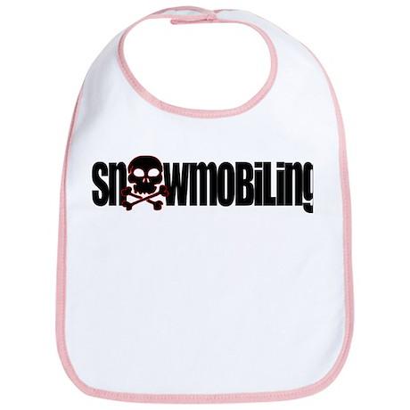 Snowmobile Skull Bib