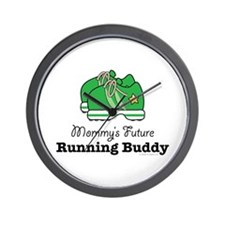 Mommy's Future Running Buddy Wall Clock