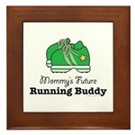 Mommy's Future Running Buddy Framed Tile