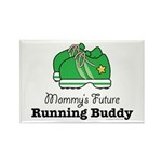 Mommy's Future Running Buddy Rectangle Magnet (10
