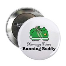 """Mommy's Future Running Buddy 2.25"""" Button (10 pack"""