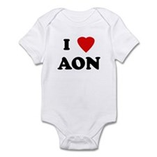I Love AON Infant Bodysuit