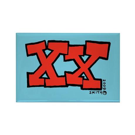 XX Rectangle Magnet