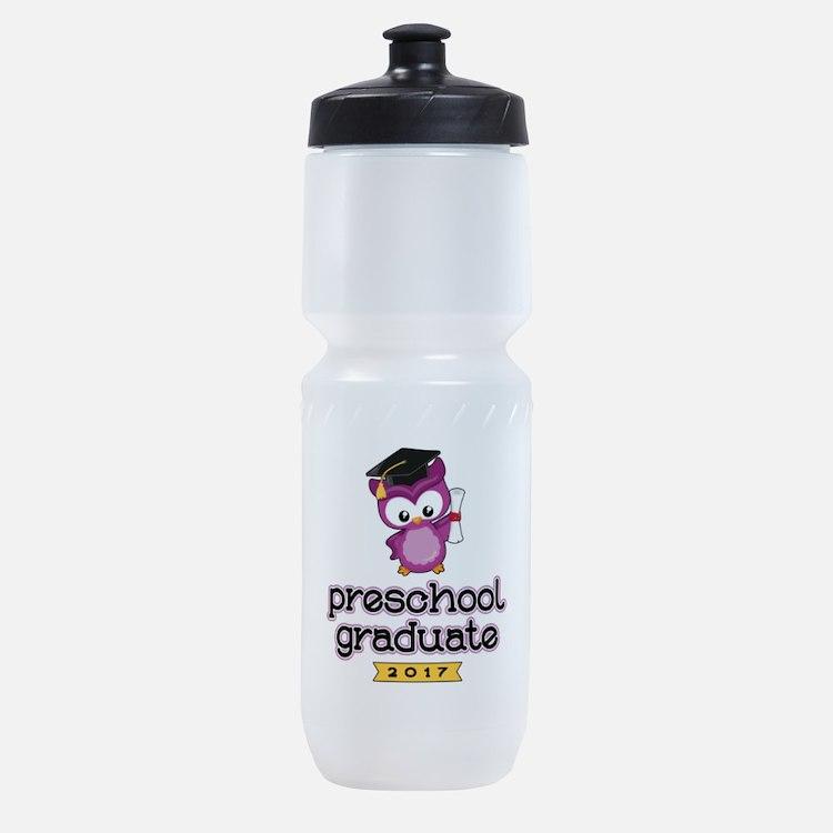 Preschool Grad 2017 Sports Bottle
