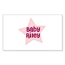 Baby Riley Rectangle Decal
