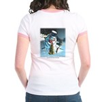 Goodwill to Man's Best Friend Jr. Ringer T-Shirt