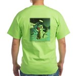 Goodwill to Man's Best Friend Green T-Shirt