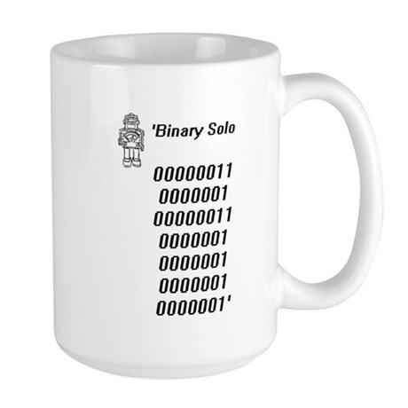 Binary solo Mugs
