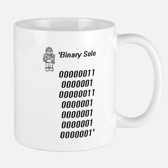 Binary solo Mugs