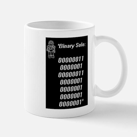 Binary solo blk Mugs