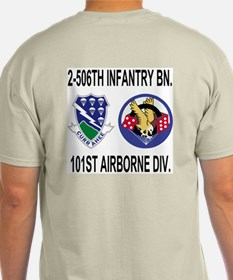 2-506th Infantry Battalion T-Shirt 2