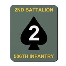 2-506th Infantry Battalion Mousepad