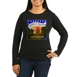 American Poultry Women's Long Sleeve Dark T-Shirt