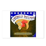 American Poultry Postcards (Package of 8)