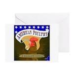 American Poultry Greeting Card
