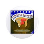 "American Poultry 3.5"" Button (100 pack)"