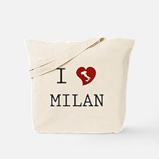 I Love Milan Tote Bag