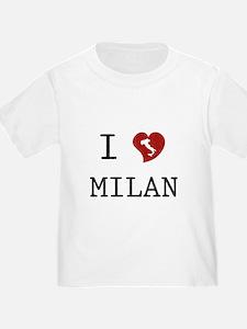 I Love Milan T