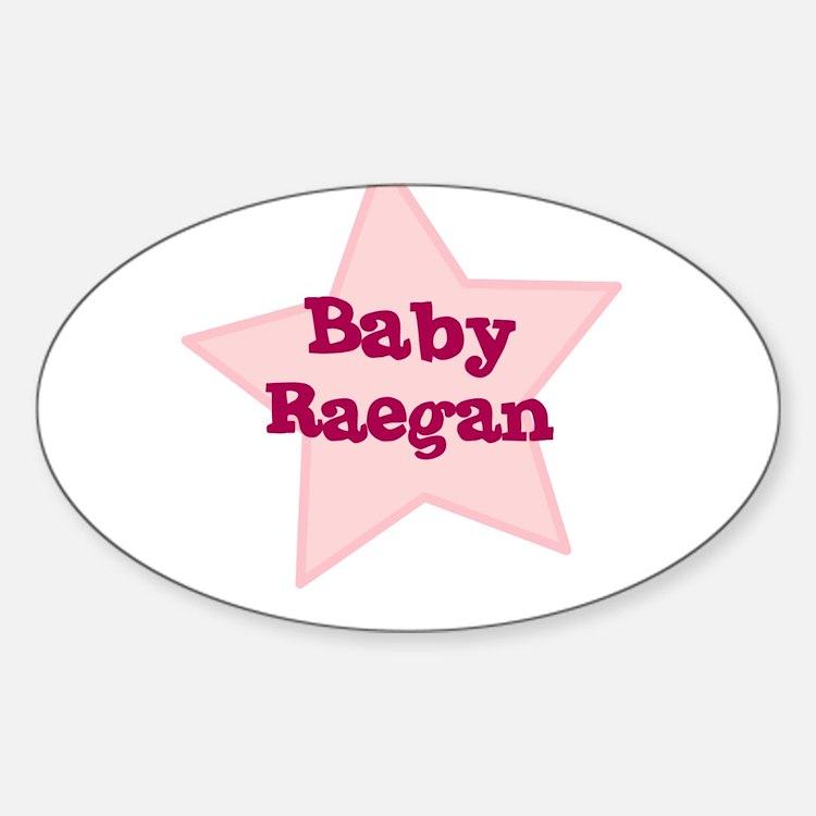 Baby Raegan Oval Decal