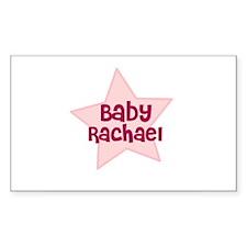 Baby Rachael Rectangle Decal