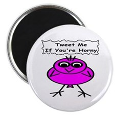 Tweet me if you're horny Magnet
