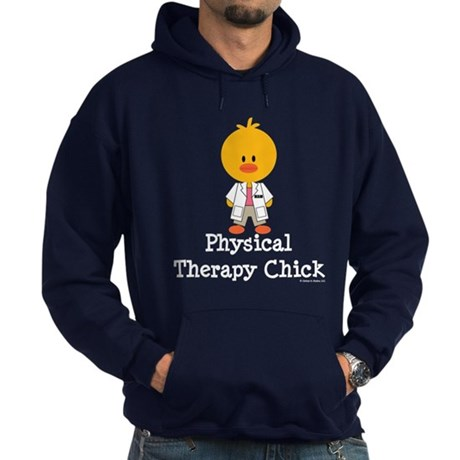 Physical Therapy Chick Hoodie (dark)
