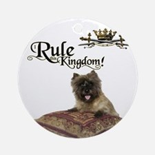 Cairn Terrier Ornament (Round)