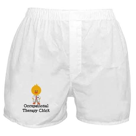 Occupational Therapy Chick Boxer Shorts
