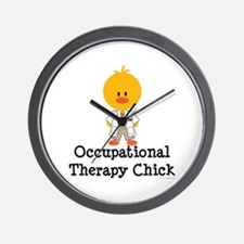 Occupational Therapy Chick Wall Clock