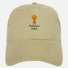 Pharmacy Chick Baseball Baseball Cap