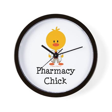 Pharmacy Chick Wall Clock